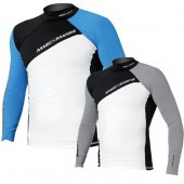 Magic Marine Energy Rash Vest - Grey LS Mens