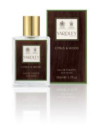 Yardley of London Citrus & Wood Eau de Toilette 1.7 oz.