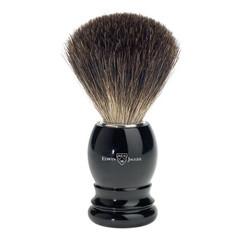 Edwin Jagger Ebony Black Best Badger Brush Classic Round