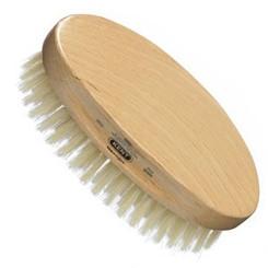 Kent Oval Beechwood Grooming Brush
