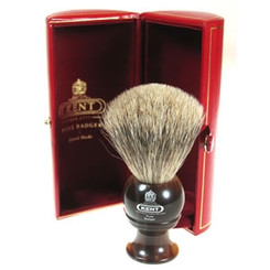 Kent Shaving Brush Best Badger Horn Brush H4 Small