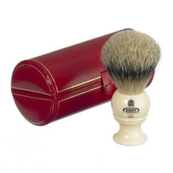 Kent Shaving Brush Pure Silver-Tipped Badger Brush BK4 Small