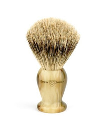 Edwin Jagger Medium Light Horn Best Badger Brush