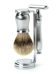 "Edwin Jagger Chatsworth ""Barley"" Three-Piece Luxury Shaving Set"