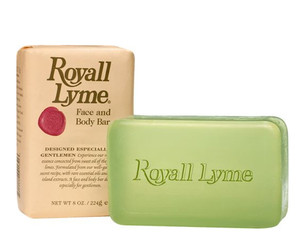 Royall Lyme Soap 8oz  (Two Bar)