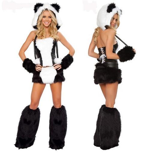 sc 1 st  BrytCouture & Adult Panda Sexy Women Party Animal Halloween Costume