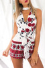 BrytCouture Sleeveless O Neck One-piece Jumpsuits