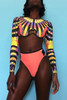 BrytCouture Multi -Color Print Ployester Bikinis