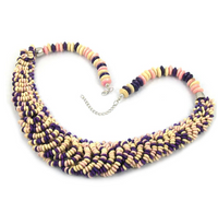 Retro Vintage European Style Colorful Necklace
