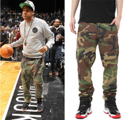 Men Camouflage Military Style Pants