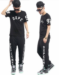 DXPE CHEF Hip Hop Street Wear Jogger Pants Dope Chef