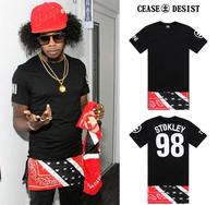 Cease Desist Trinidad James Bandana Extended Stokley Tee Shirt