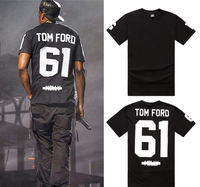Jay-z Pop Molly, Rock Tom Ford 61 Crew Neck T-Shirt