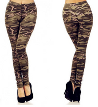 Desert Storm Military Camouflage Leggings BrytCouture