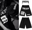 Yeezus Unisex Streets Gym Shorts - Black Male