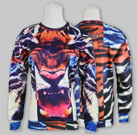 Cross Tiger Unisex Pullover Sweater - BrytCouture.Com