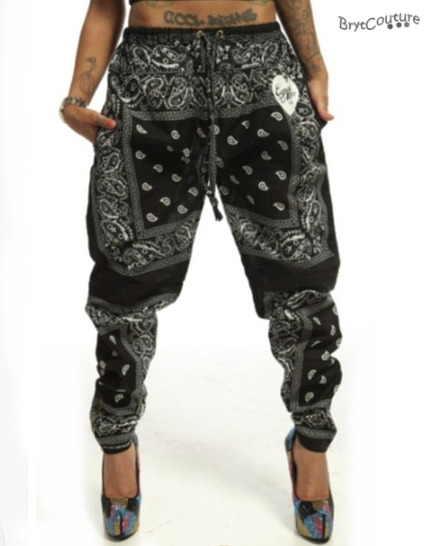 Patch Trim Harem Style Joggers available in Black. Buy cheap Trousers and Leggings for just £5 on urgut.ga