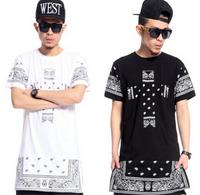 West Coast Bandana Extended Cross Religion T-Shirt