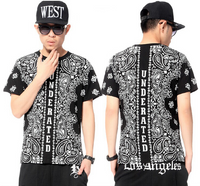 West Coast Underated Paisley Banadana Streetwear T-shirt