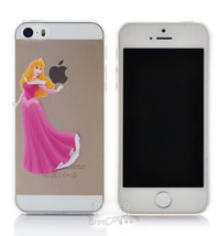 Transparent  Fairy Tale Aurora Princess iPhone Cover