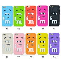 New Trends M&M's Silicon Samsung Galaxy and Note Case