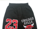 Chicago Bulls 23 Thick Fleece Sweatpants Black