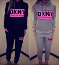 DKNY Print Sportwear Tracksuits 2 Piece Set