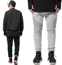 Men's Pleaded Casual Joggers Sweatpants