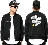 Bedwin & The Heart Breakers Black Versity Jacket