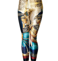Vintage Egypt Pharaoh Printed Leggings
