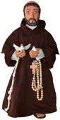Soft Saint Doll--Saint Francis of Assisi