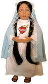 Soft Saint Doll--Mary Immaculate Heart