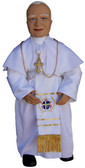 Soft Saint Doll . Saint Pope John Paul II
