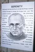 Saint Maximilian Kolbe and Serenity Prayer--Reproduction for Framing