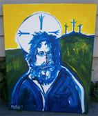 Resurrection -- Original Acrylic Painting by Joseph Matose IV, 16 x 20 inches