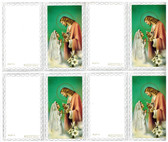 Custom Print First Communion Vintage Girl Invitations or Thank You Notes (Custom set of 4 with blank envelopes)