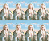 Custom Print Immaculate Heart of Mary Prayer Cards (Custom set of 8)
