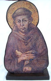 Bust of St. Francis of Assisi (Wood - 16 inch)