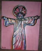Come to Me, All Who Labor and Are Heavy Laden--Original Acrylic Painting by Artist Joseph Matose IV