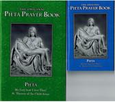 Pieta Prayer Book -- Large Print (Green) and Standard Print (Blue)