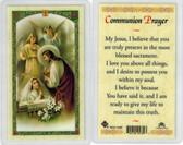 First Communion, girl communion, Laminated prayer card