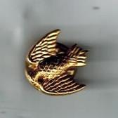Gold Eagle Lapel Pin