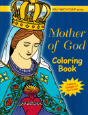 Catholic Coloring book for Adults on Mary, the Mother of God