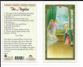 "Laminated Prayer Card of Our Lady ""The Angelus""."