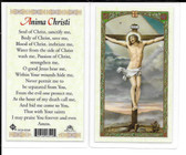 "Laminated Prayer Card ""Anima Christi""."