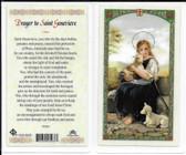 Laminated Prayer Card to Saint Genevieve