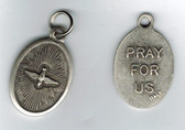 Holy Spirit Silver Oval Medal