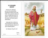 Laminated Prayer Card Prayer to Saint Richard Bishop