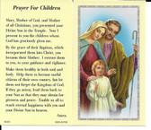 """50 cent Prayer Cards """"Prayer for Children"""