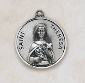 Saint Theresa Medal On Chain